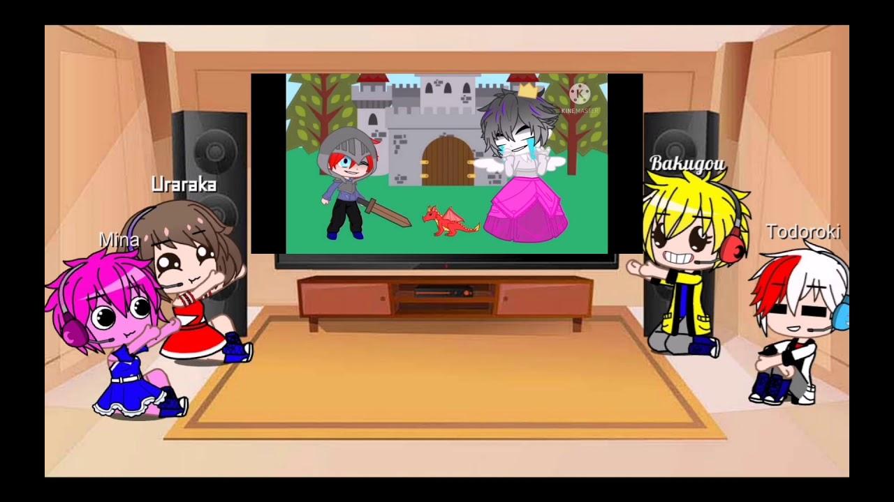 Download bnha reacciona a Izuku afton parte 3