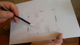Установка и подключение датчика движения для включения освещения