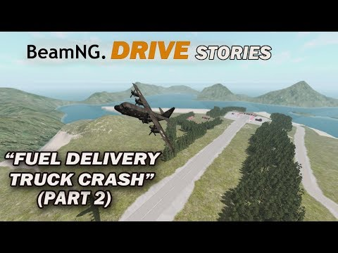 BeamNG Drive Short Stories Delivery Truck Snow Crash Part 2 (Hello Africa)
