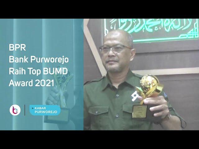 BPR Bank Purworejo Raih Top BUMD Award 2021