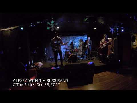 ALEXEY with Tim Russ Band : Blues # 1