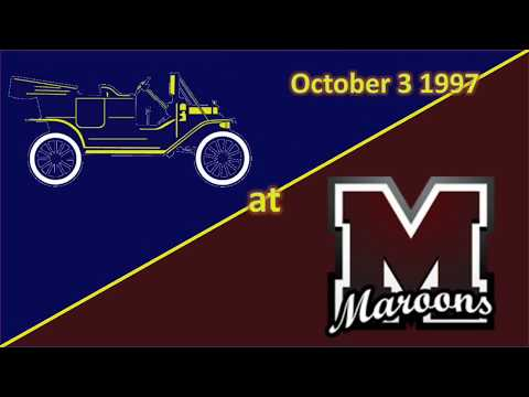 1997 Kingsford Flivvers Versus Menominee Maroons