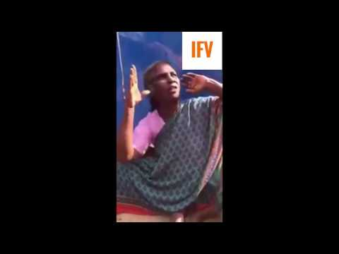 Indian Poor Lady Talking in English|INSPIRATIONAL|IFV