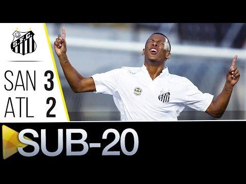 Sub-20 | Santos 3 x 2 Atlético-MG | Brasileirão (25/05/16)