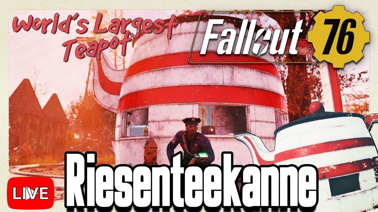 Fallout 76 Karte Deutsch.Fallout 76 Die Riesenteekanne Fo76 Gameplay Deutsch 17