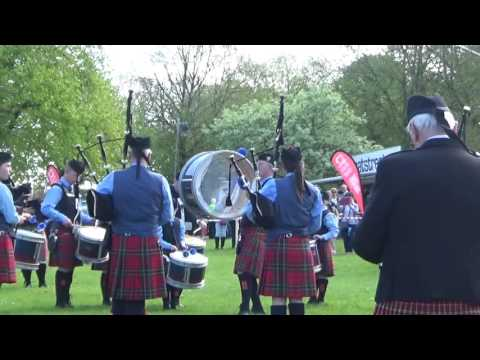 Augharan Pipe Band @ Ards & North Down Pipe Band Championships 2016