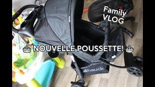 ♥♥♥ FAMILY VLOG unboxing poussette HAUCK shopper citi neo 2 ♥♥♥