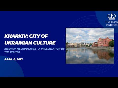Serhiy Zhadan: Kharkiv-Mesopotamia – a presentation by the writer