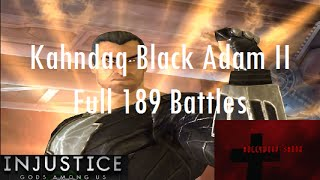 Injustice Gods Among Us iOS - Kahndaq Black Adam II Challenge Full 189 Battles