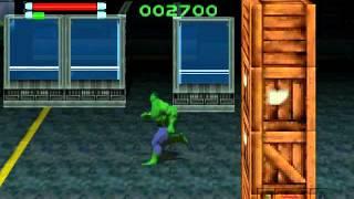 Incredible Hulk - The Pantheon Saga PSX, Jogo Bizarro