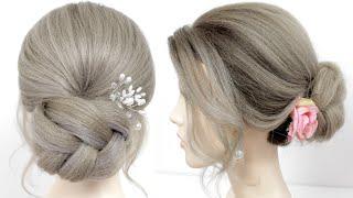 Прически на каждый день Легкие прически Прически на средние и длинные волосы Укладка волос