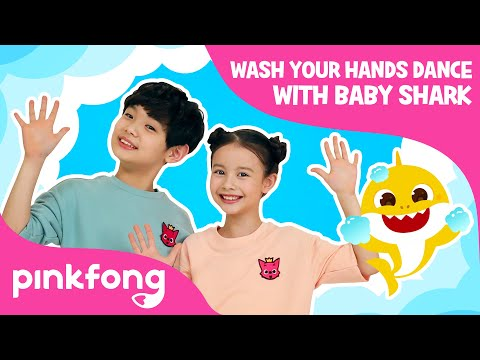 Wash Your Hands Dance With Baby Shark   Join #BabySharkHandWashChallenge   Pinkfong Songs For Kids