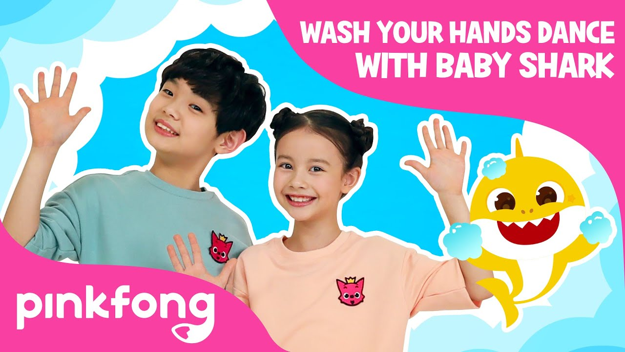 Wash Your Hands Dance with Baby Shark | Join #BabySharkHandWashChallenge | Pinkfong Songs for Kids
