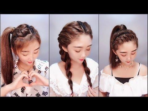 Hướng dẫn tết tóc đẹp đơn giản P2 | Easy hairstyles you can do it