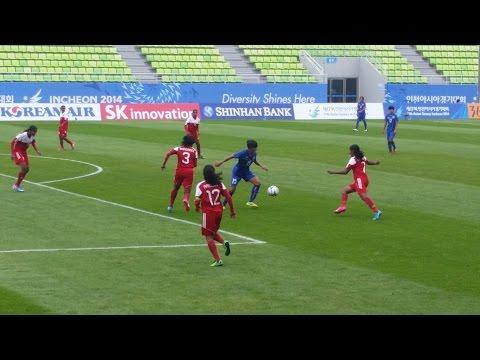 17th Incheon Asian Games / Maldives Vs Thailand / Maldives 0 - 10 Thailand