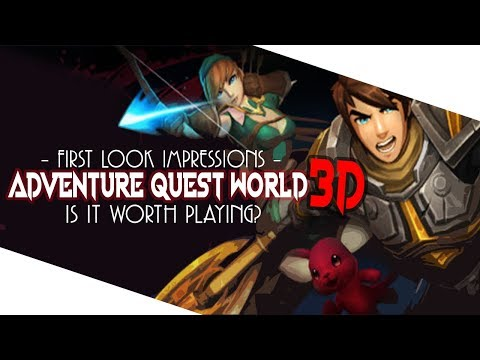 Adventure Quest World 3D – First Look Impressions – Is It Worth Playing Right Now?
