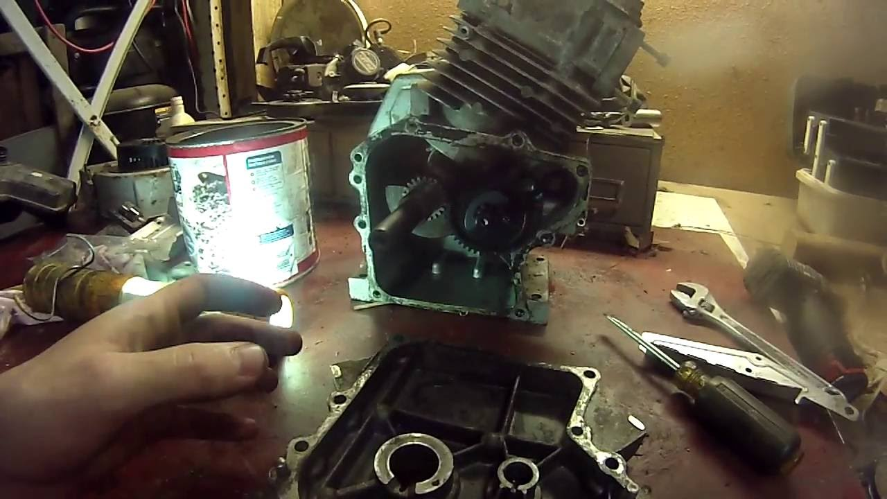 how to remove a governor on a Tecumseh Power sport go kart/mini bike engine