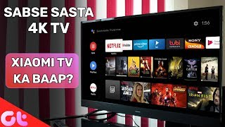 Android 43-Inch 4K HDR TV FOR 30000   Better Than Xiaomi TV?   GT Hindi