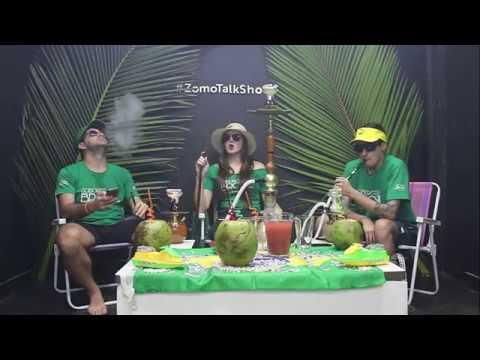 Zomo Talk Show #47 - Copacabana Beach - Sabores do Brasil   Zomo essência para narguile