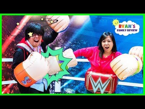 Toy Challenge Battle Mommy Vs Daddy! New Ryan's World Toys!!!
