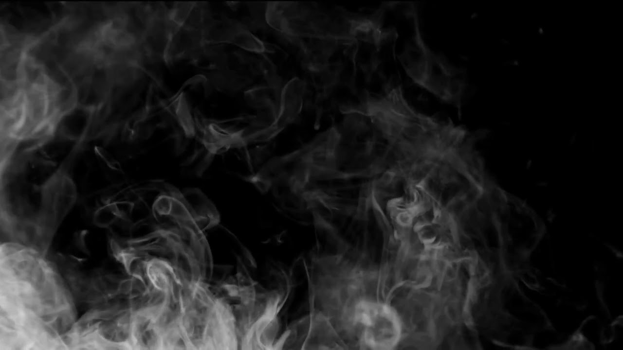 Smoke on black background 16 HD Humo sobre fondo negro 16 ...