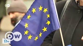 Распад или расцвет  что ждет Евросоюз?    ток шоу DW  Квадрига