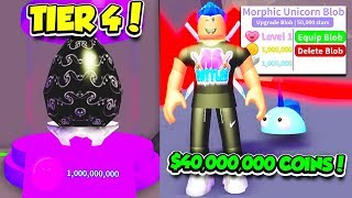 I GOT THE RAREST TIER 4 VOID BLOB PET IN BLOB SIMULATOR UPDATE!! 1.000.000 di POWER (Roblox)