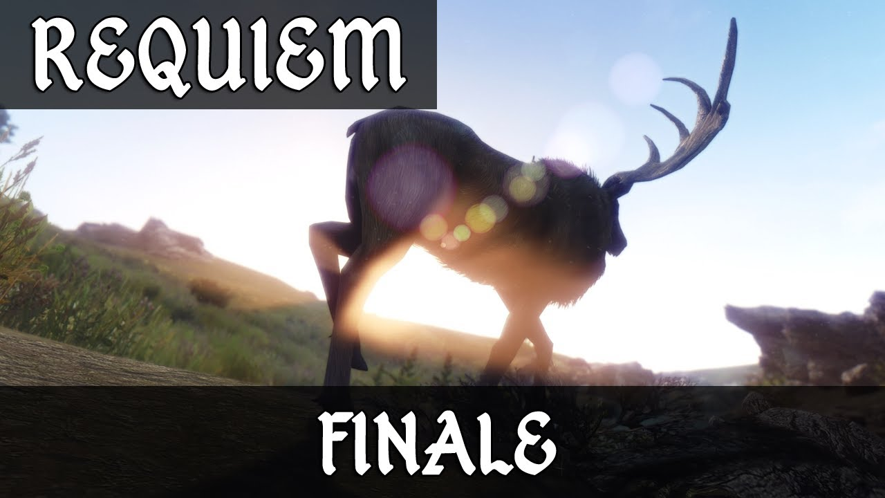 Skyrim mod requiem finale youtube
