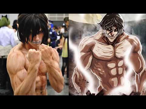 """Attack on titan"" in cosplay - spoiler anime !!!  The most complete slideshow on Shingeki no Kyojin"