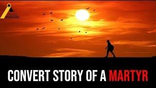 Emotional Convert Story of a Martyr : Arab Sunni to Islam Ahmadiyya