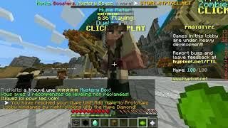 Minecraft (galère) hypixel