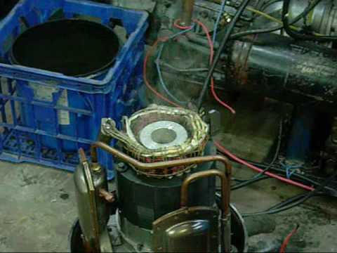 Forced Refrigerant Compressor Failure and Motor Burnout