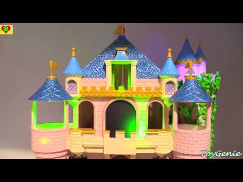 Disney Princess Deluxe Fireworks Castle Aurora Sleeping Beauty