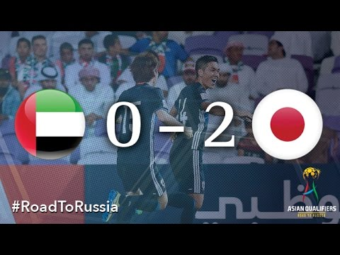 UAE vs Japan (Asian Qualifiers - Road To Russia)