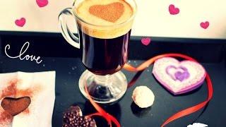 Как сделать кофе с пенкой \ Кофе на день Св. Валентина(Кофе с густой , карамельной пенкой можно сделать в домашних условиях всего за 2 минуты. Так же мы его украсим..., 2016-02-08T21:49:54.000Z)