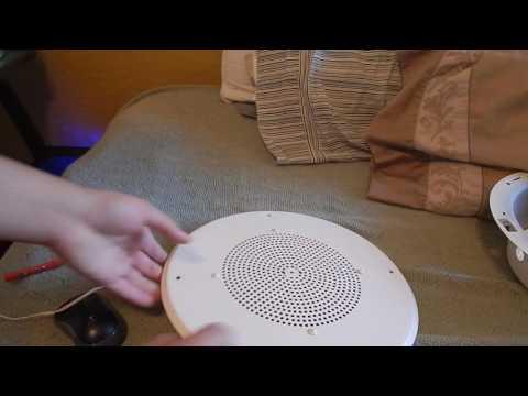 Valcom UK - V-1030 5 Watt Amplified Horn Speaker - YouTube