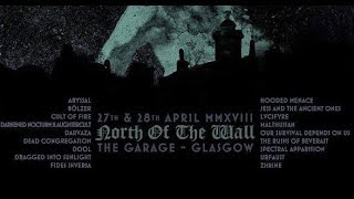 Dead Congregation (GR) - Live at Garage, Glasgow 28th April 2018 FULL SHOW HD