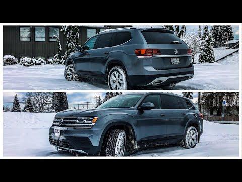 Обновил 2018 VW Atlas преимущество в лизинге