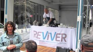 Reviver Restaurant, Chef Scott And The Xl Glass Walled Truck