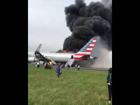 American Air Flight 383 Engine Explosion During Takeoff