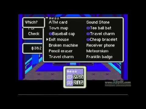 <b>EarthBound</b> Playthrough w/ level 99 <b>cheat</b>: Twoson - YouTube
