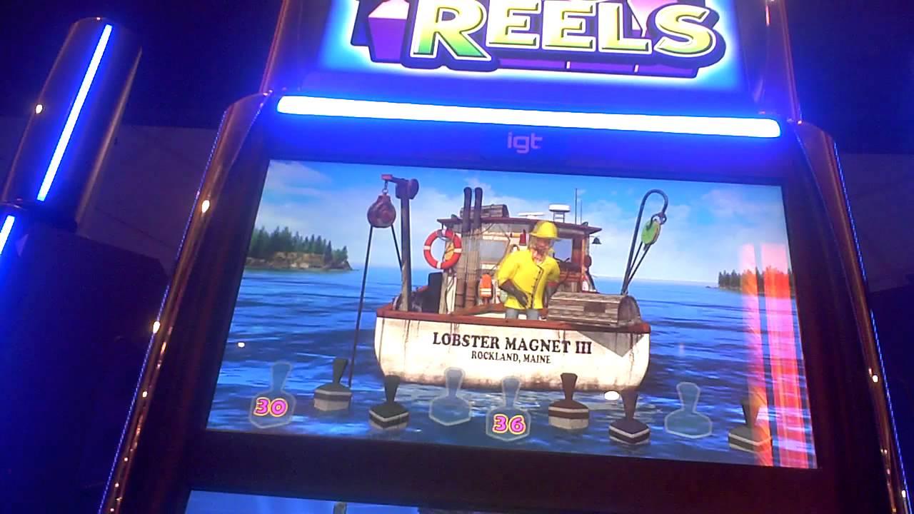 Lucky Larry Lobstermania 3 Slot Machine SUPER BIG WIN Bonus(2) - YouTube