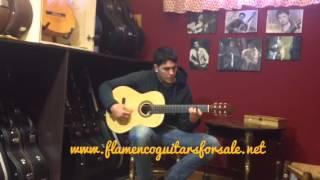 Andrés D. Marvi 2011 (B. Rosewood) flamenco guitar for sale