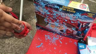Spiderman Super Web Slinger Timelapse
