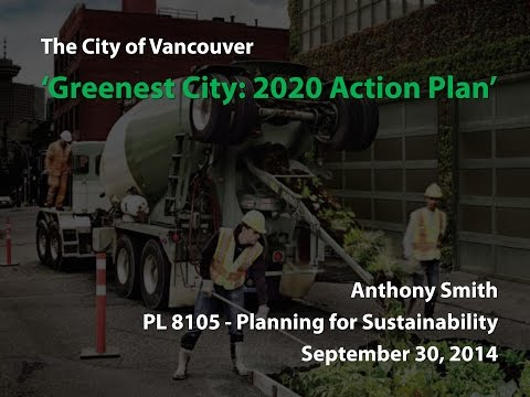 City of Vancouver Greenest City Action Plan Review