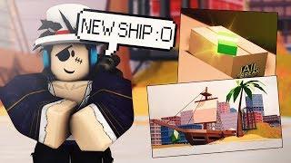 NOVA atualização do navio jailbreak! DESAFIO secreto? REVISÃO COMPLETA! Roblox