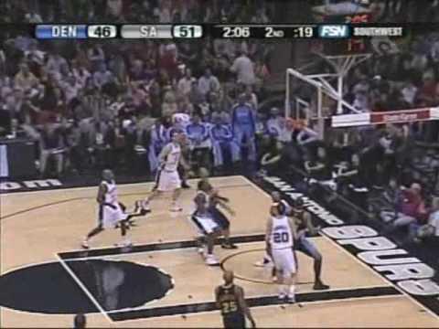 Allen Iverson 30pts vs Tim Duncan SA Spurs 07/08 NBA Season