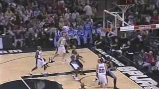 Allen Iverson 30pts vs Tim Duncan SA Spurs 07/08 NBA Season