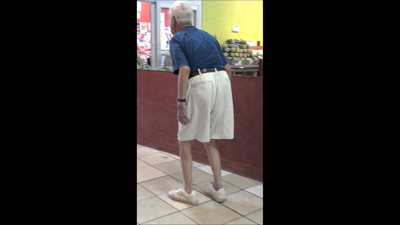 Man Youtube Makeup Gurus: Old Man Walking