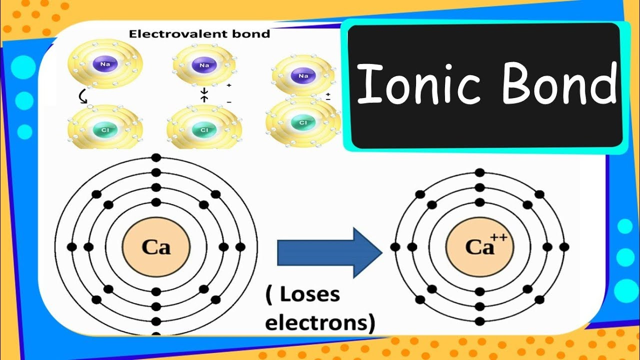 IONIC OR ELECTROVALENT BOND PDF DOWNLOAD